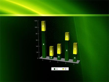 Green Arc PowerPoint Template Slide 17