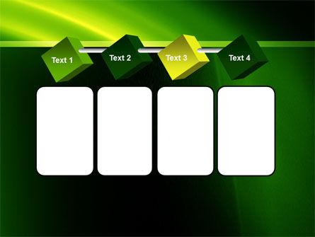 Green Arc PowerPoint Template Slide 18