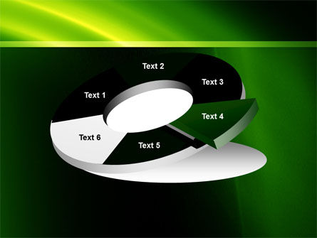 Green Arc PowerPoint Template Slide 19