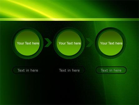 Green Arc PowerPoint Template Slide 5