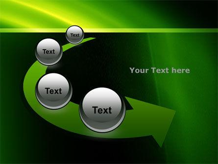 Green Arc PowerPoint Template Slide 6