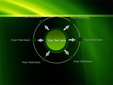 Green Arc PowerPoint Template Slide 7