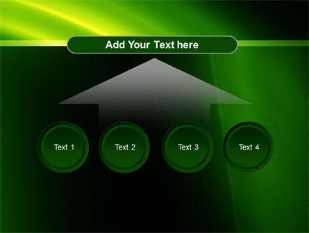 Green Arc PowerPoint Template Slide 8
