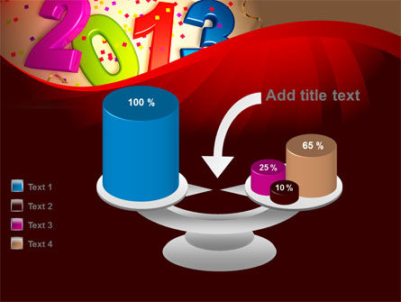 2013 and Confetti PowerPoint Template Slide 10