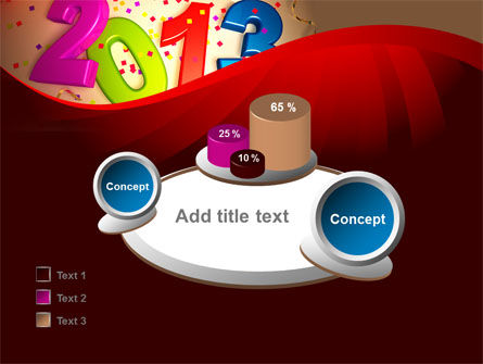 2013 and Confetti PowerPoint Template Slide 16