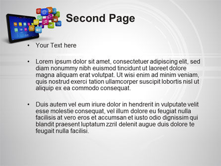 Mobile Applications PowerPoint Template Slide 2