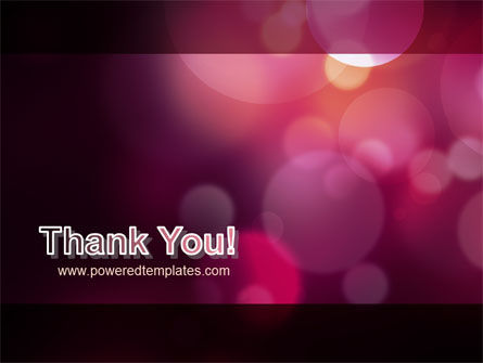 Purple Spots PowerPoint Template Slide 20