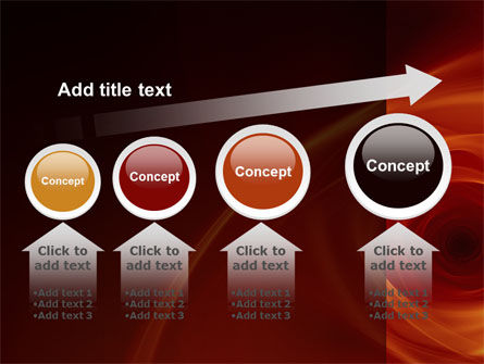 Red Whirlpool PowerPoint Template Slide 13