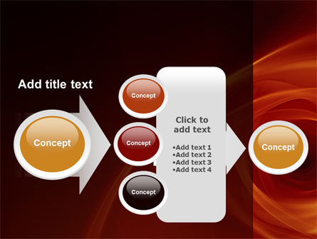 Red Whirlpool PowerPoint Template Slide 17