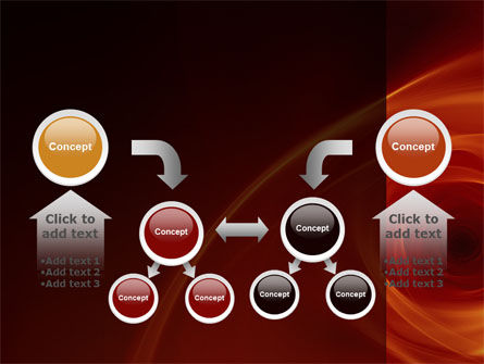 Red Whirlpool PowerPoint Template Slide 19