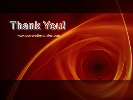Red Whirlpool PowerPoint Template Slide 20