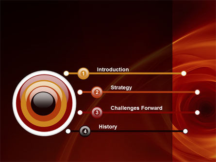 Red Whirlpool PowerPoint Template Slide 3
