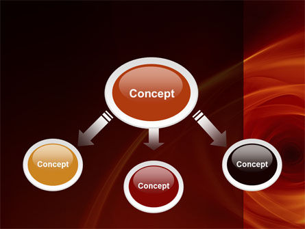 Red Whirlpool PowerPoint Template Slide 4