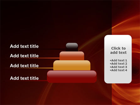 Red Whirlpool PowerPoint Template Slide 8