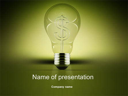 Business Concepts: Profit Making Idea PowerPoint Template #10470