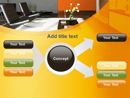 Home Interior Design PowerPoint Template Slide 14