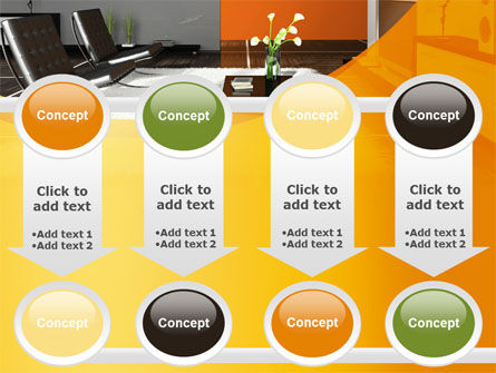 Home Interior Design PowerPoint Template Slide 18