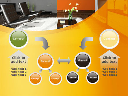 Home Interior Design PowerPoint Template Slide 19