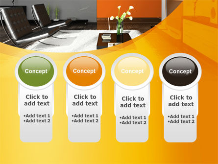 Home Interior Design PowerPoint Template Slide 5
