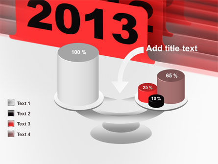 2013 Year's Plan PowerPoint Template Slide 10