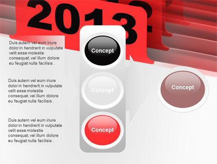 2013 Year's Plan PowerPoint Template Slide 11