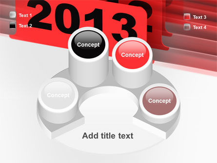 2013 Year's Plan PowerPoint Template Slide 12