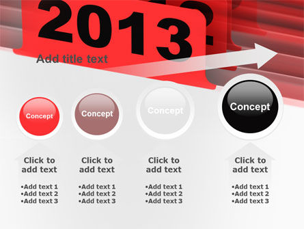 2013 Year's Plan PowerPoint Template Slide 13
