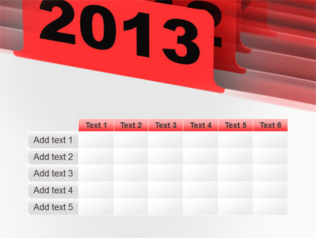 2013 Year's Plan PowerPoint Template Slide 15