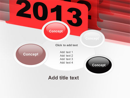 2013 Year's Plan PowerPoint Template Slide 16
