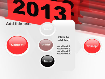 2013 Year's Plan PowerPoint Template Slide 17
