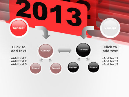 2013 Year's Plan PowerPoint Template Slide 19