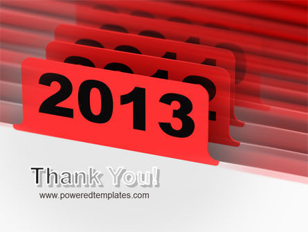 2013 Year's Plan PowerPoint Template Slide 20