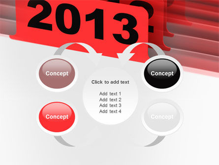 2013 Year's Plan PowerPoint Template Slide 6
