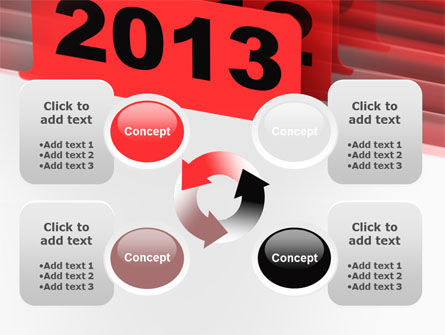 2013 Year's Plan PowerPoint Template Slide 9