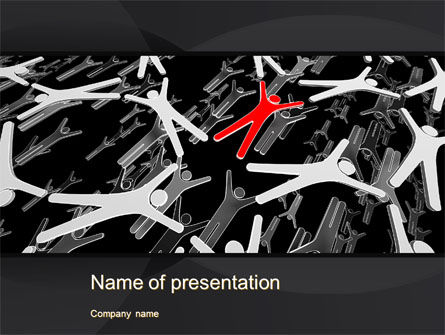 Careers/Industry: HR Concepts PowerPoint Template #10476