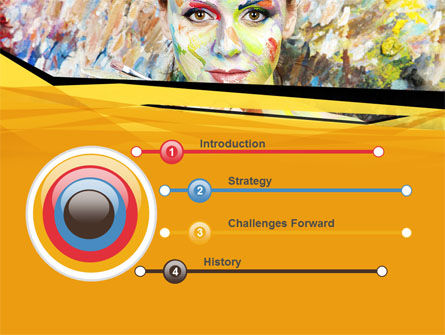 Painter PowerPoint Template, Slide 3, 10477, People — PoweredTemplate.com