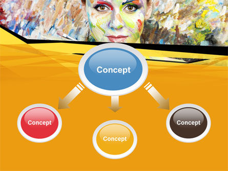 Painter PowerPoint Template, Slide 4, 10477, People — PoweredTemplate.com