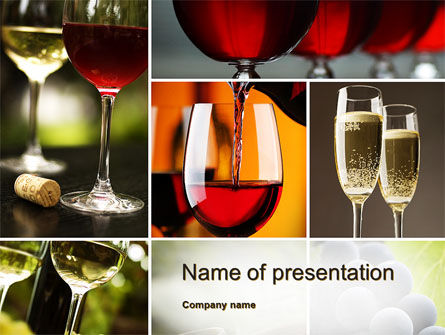 Aperitif PowerPoint Template, 10478, Food & Beverage — PoweredTemplate.com