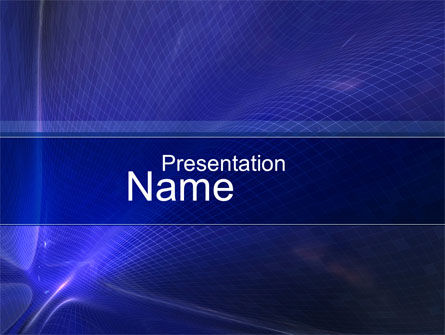 Abstract/Textures: Distorted Surface PowerPoint Template #10479