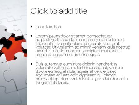 The Last Piece PowerPoint Template, Slide 3, 10481, Business Concepts — PoweredTemplate.com