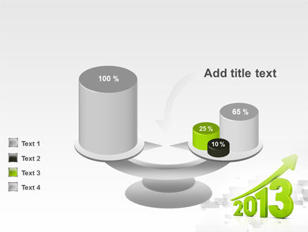 2013 Growth PowerPoint Template Slide 10