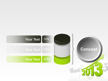 2013 Growth PowerPoint Template Slide 11
