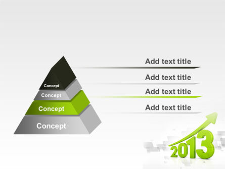 2013 Growth PowerPoint Template Slide 12