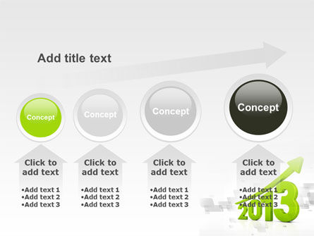 2013 Growth PowerPoint Template Slide 13