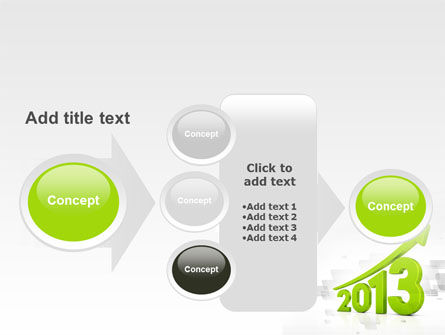 2013 Growth PowerPoint Template Slide 17