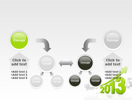 2013 Growth PowerPoint Template Slide 19