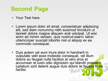 2013 Growth PowerPoint Template Slide 2