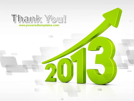 2013 Growth PowerPoint Template Slide 20