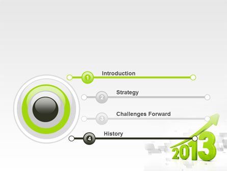 2013 Growth PowerPoint Template, Slide 3, 10482, Business Concepts — PoweredTemplate.com