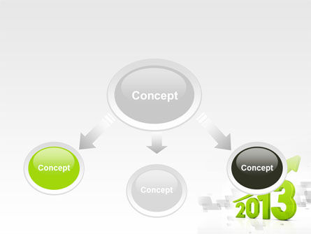 2013 Growth PowerPoint Template Slide 4